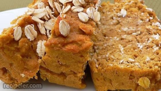 Pumpkin Oat Bread