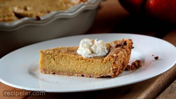 Pumpkin Pie (Dairy, Egg, and Gluten Free)