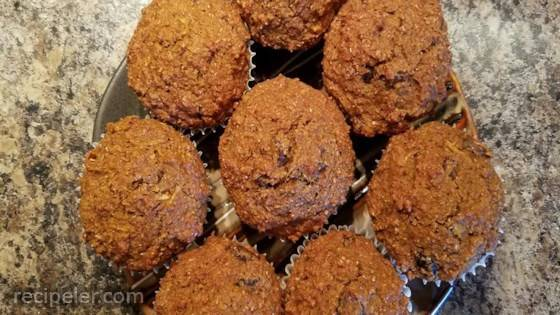Pumpkin Spice Healthy Bran Muffins