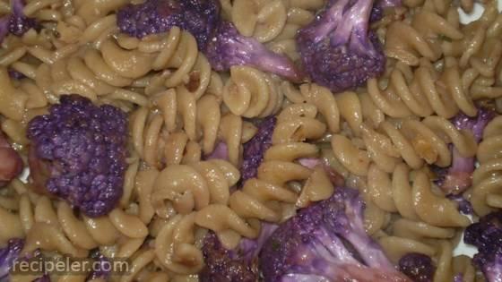 Purple Cauliflower Pasta