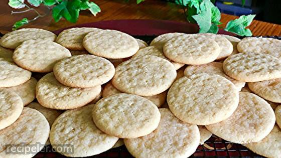 Queso Fresco Sugar Cookies