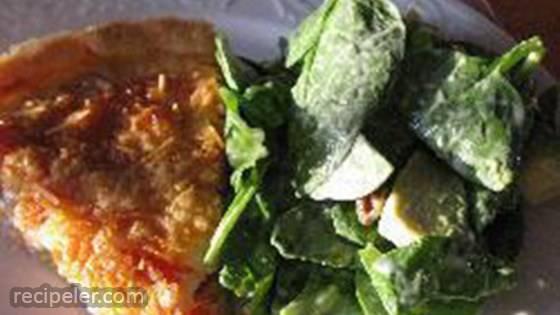 Quiche Thon Tomate (Tomato Tuna Quiche)