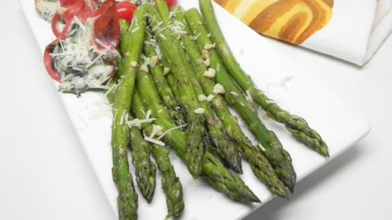 quick and easy baked asparagus