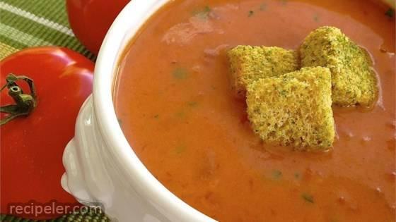 Quick and Easy Cream of Tomato Soup