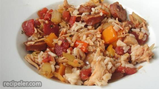 Quick and Easy Jambalaya