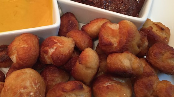 quick and easy pretzel bites with nutella® dipping sauce