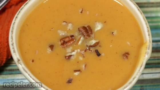 Quick and Easy Sweet Potato Soup