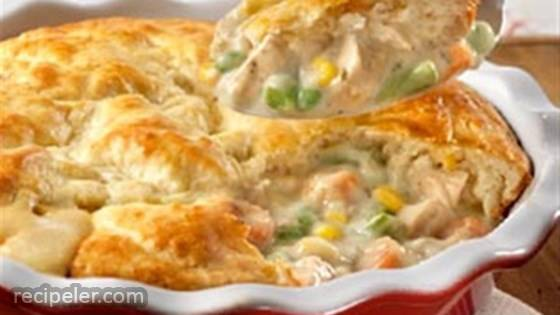 Quick Chicken Pot Pie from Campbell's Kitchen