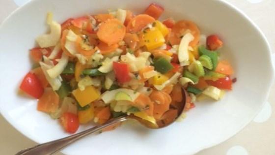 Quick Mediterranean Vegetables