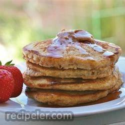 Quick Oatmeal Pancakes