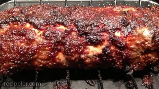 Quick Savory Cranberry Glazed Pork Loin Roast