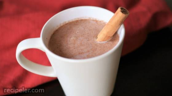Quick Vegan Warm Sweet Cinnamon Milk