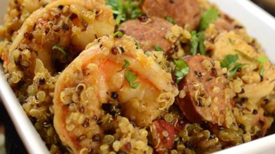quinoa jambalaya