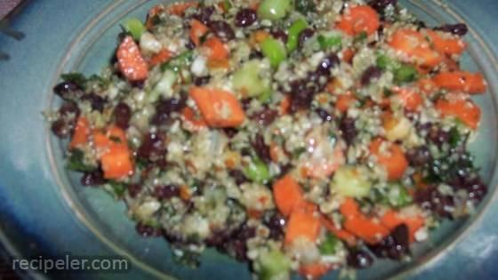 Quinoa Tabbouleh Salad (Gluten-Free)