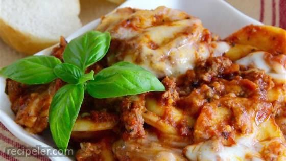 Randy's Slow Cooker Ravioli Lasagna