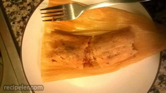 Red Chicken Tamales (Tamales Rojos de Pollo)
