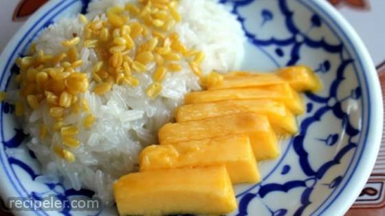 Refined Sugar Free-Mango Sticky Rice