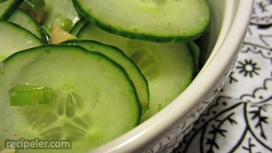Refreshing Korean Cucumber Salad
