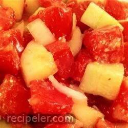 Refreshing Tomato Cucumber Salad