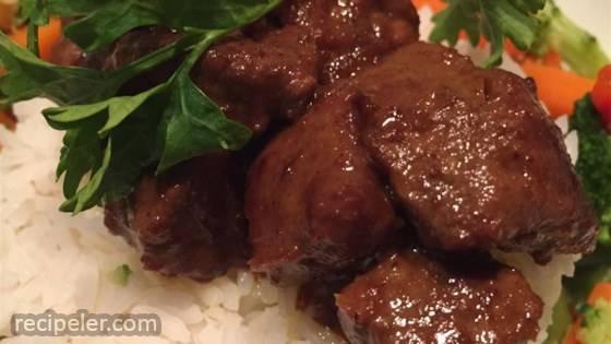 Rendang Gaging (Beef Stew)