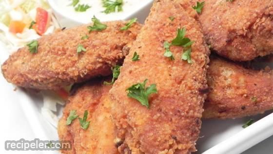Restaurant-Style Fried Chicken