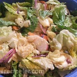 restaurant-style house salad