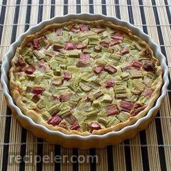 Rhubarb Custard Pie V