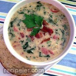 Rich talian Sausage and Potato Soup