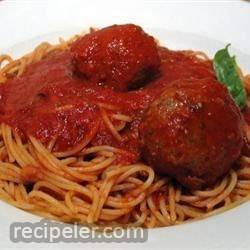 Richard and Suzanne's Famous Spaghetti Sauce