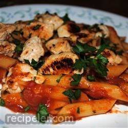 Rigatoni with talian Chicken