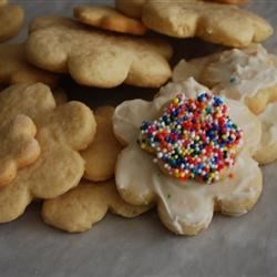 rish cream sugar cookies