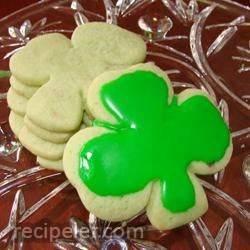 rish shamrock cookies