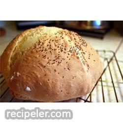 rish soda bread in a skillet