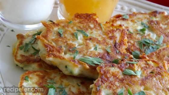 rish Zucchini and Potato Pancakes