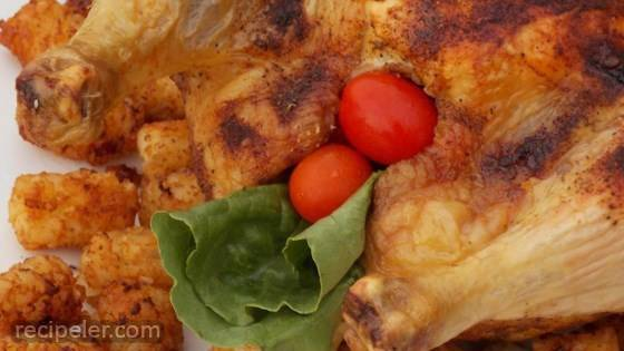 Roast Chicken with Curry Paste