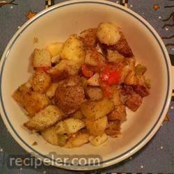 Roasted Potato Salad with Vinaigrette