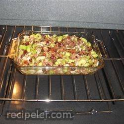 Roasted Red Pepper and Sausage Stuffing