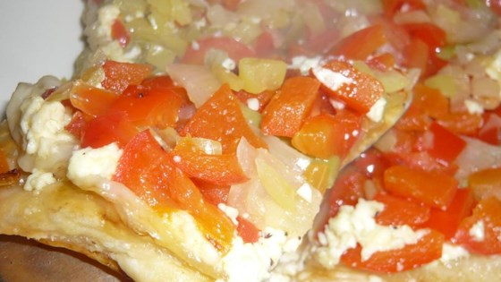 roasted vegetables and puff pastry