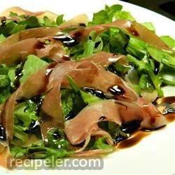 Rocket and Parma Ham Salad