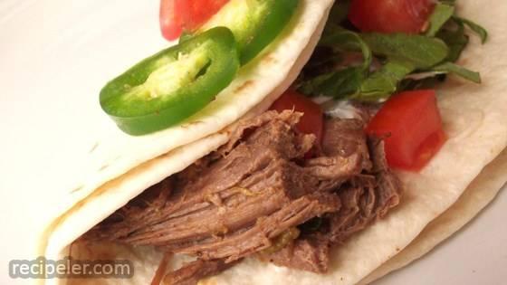 Ronaldo's Beef Carnitas