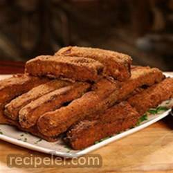 RTZ Country Fried Ribs with Zesty Buttermilk Ranch Dressing, created by Dinosaur Bar-B-Que