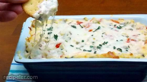 RTZ White Pizza Meatball Dip, created by Lombardi's Pizza