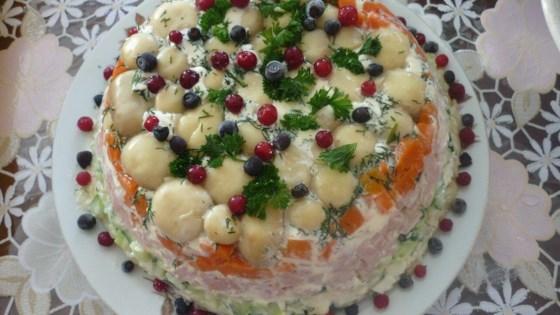 russian layered salad