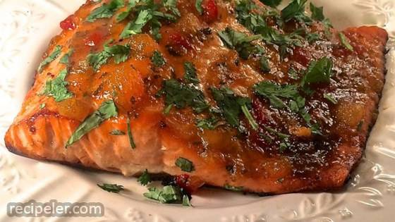 Salmon With Mango And Lime