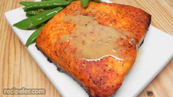 Salmon with Maple Soy Marinade