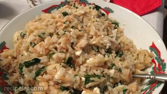 Sarah's Feta Rice Pilaf