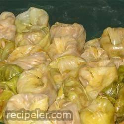 Sarmale (Stuffed Cabbage or Vine Leaves)