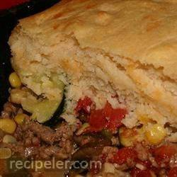 Saucy Beef and Vegetable Casserole