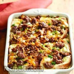 Sausage and Apple Breakfast Casserole