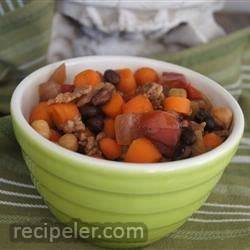 Sausage and Bean Slow Cooker Dinner